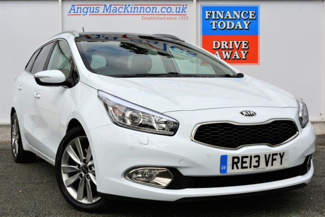 2013 13 KIA CEED 1.6 CRDI 4 TECH ECODYNAMICS Incredible High Spec 5d Family Estate full of Factory Options