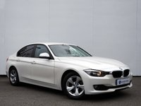 USED 2012 62 BMW 3 SERIES 2.0 320D EFFICIENTDYNAMICS 4d 161 BHP FULL BMW MAIN DEALER SERVICE HISTORY...... ONLY £20 PER YEAR TO TAX......
