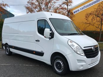 2012 VAUXHALL MOVANO 2.3 F3500 L3H2 CDTI 125 [ MOBILE WORKSHOP ] VAN LOW MILEAGE