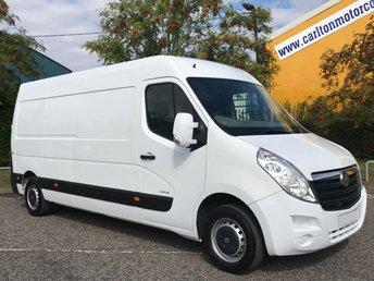 2012 VAUXHALL MOVANO 2.3 F3500 L3H2 CDTI 125 [ MOBILE WORKSHOP ] Van LOW MILEAGE  £7950.00