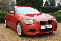 USED 2014 14 BMW 1 SERIES 2.0 116D M SPORT 5d 114 BHP 1 OWNER FROM NEW / FULL SERVICE RECORD / LONG MOT