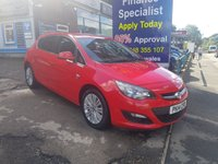 2014 VAUXHALL ASTRA 1.6 EXCITE 5d 113 BHP, only 38000 miles, 2 Owners £6995.00
