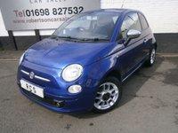 2011 FIAT 500 1.2 S 3dr £4380.00