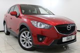 USED 2015 64 MAZDA CX-5 2.2 D SPORT NAV 5DR 148 BHP HEATED LEATHER SEATS + SAT NAVIGATION + REVERSE CAMERA + BLUETOOTH + CRUISE CONTROL + CLIMATE CONTROL + MULTI FUNCTION WHEEL + 19 INCH ALLOY WHEELS