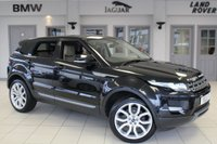 USED 2012 12 LAND ROVER RANGE ROVER EVOQUE 2.2 SD4 PURE TECH 5d 190 BHP FULL LEATHER SEATS + FULL SERVICE HISTORY + SATELLITE NAVIGATION + BLUETOOTH + HALOGEN HEADLIGHTS + HEATED FRONT SEATS + DAB RADIO + CRUISE CONTROL + PARKING SENSORS + 20 INCH ALLOYS