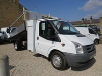 2011 FORD TRANSIT 115 T 350 2.4TDCi MWB TIPPER WITH TOOL LOCKER, BEACONS,SAFETY BARS, TOW BAR, - FULLY EQUIPPED £8995.00