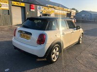 USED 2016 66 MINI HATCH COOPER 1.5 COOPER 5 DOOR 134 BHP IN WHITE WITH ONLY 25000 MILES APPROVED CARS ARE PLEASED TO OFFER THIS MINI HATCH COOPER 1.5 COOPER 5 DOOR 134 BHP IN WHITE WITH ONLY 25000 MILES,1 OWNER WITH A GREAT SPEC INCLUDING A 6 SPEED GEARBOX,AIR/CON,REAR PARKING SENSORS,DAB RADIO,BLUETOOTH AND MUCH MORE WITH A FULL MINI SERVICE HISTORY A GREAT MINI 5 DOOR AT A VERY SENSIBLE PRICE.