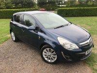 2012 VAUXHALL CORSA 1.4 SE 5d AUTO 98 BHP Full Service History MOT 08/19, Mint Example £5849.00