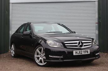 2012 MERCEDES-BENZ C CLASS 2.1 C220 CDI BLUEEFFICIENCY SPORT 4d AUTO 168 BHP £8950.00