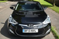 USED 2013 13 HYUNDAI VELOSTER 1.6 GDI 4d 138 BHP SERVICE HISTORY, 6 SPEED MANUAL, BLUETOOTH, AIR CON, AUX