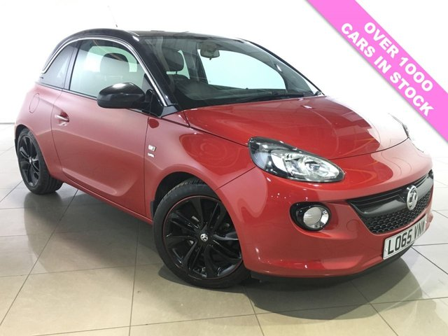 View our 2015 65 VAUXHALL ADAM 1.2 GLAM 3d 69 BHP