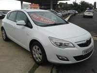 2010 VAUXHALL ASTRA 1.4 EXCLUSIV 5d 98 BHP £SOLD