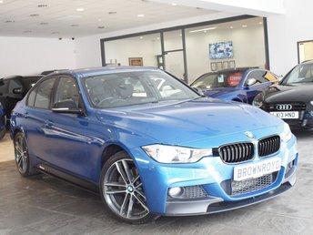 2014 BMW 3 SERIES 2.0 320D XDRIVE M SPORT 4d AUTO 181 BHP £15990.00
