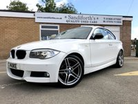 2012 BMW 1 SERIES 2.0 118D SPORT PLUS EDITION 2d COUPE FULL HTD LEATHER BLURTOOTH  £8290.00