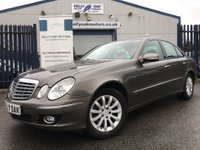 USED 2007 07 MERCEDES-BENZ E CLASS 3.0 E320 CDI ELEGANCE 4d AUTO THIS CAR IS NOW SOLD