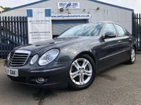 USED 2008 08 MERCEDES-BENZ E CLASS 2.1 E220 CDI Avantgarde 4dr THIS CAR IS NOW SOLD