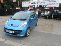 USED 2008 08 PEUGEOT 107 1.0 URBAN MOVE 3d 68 BHP FINANCE AVAILABLE FROM £15 PER WEEK OVER FOUR YEARS - SEE FIANCE LINK