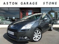 USED 2013 62 PEUGEOT 5008 1.6 E-HDI ALLURE 5d AUTO 115 BHP ** 7 SEATS * PANROOF ** ** 7 SEATS * PAN ROOF * F/P/S/H **