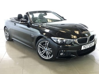 2017 BMW 4 SERIES 2.0 420D M SPORT 2d AUTO 188 BHP £24990.00