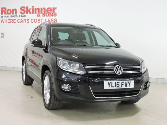 View our 2016 16 VOLKSWAGEN TIGUAN 2.0 MATCH EDITION TDI BMT 4MOTION 5d 148 BHP