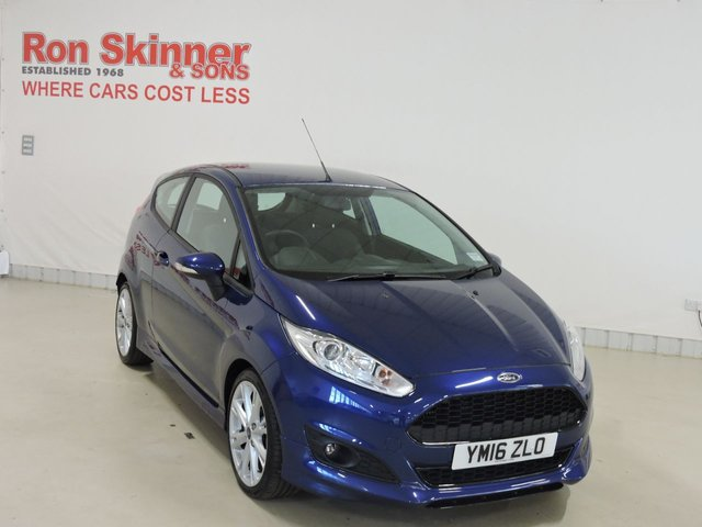 View our 2016 16 FORD FIESTA 1.0 ZETEC S 3d 139 BHP