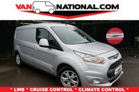 2015 FORD TRANSIT CONNECT 1.6 240 LIMITED P/V 115 BHP L2 (LWB AIR CON DAB HEATED SEATS) £10999.00