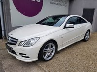 2012 MERCEDES-BENZ E CLASS 2.1 E220 CDI BLUEEFFICIENCY SPORT 2d 170 BHP £11995.00