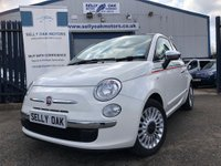 USED 2011 11 FIAT 500 1.2 LOUNGE 3d  THIS CAR IS NOW SOLD