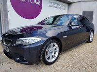2013 BMW 5 SERIES 2.0 520D M SPORT 4d AUTO 181 BHP £14990.00