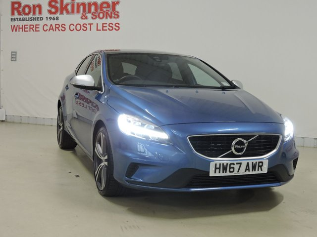 View our 2017 67 VOLVO V40 2.0 D4 R-DESIGN PRO 5d AUTO 188 BHP (Import)