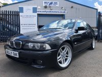 USED 2002 52 BMW 5 SERIES 3.0 530I SPORT EDITION 4d AUTO  CHAMPAGNE EDITION & FSH