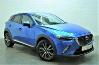 2015 MAZDA CX-3 1.5 D SPORT NAV 5d 104 BHP £10395.00