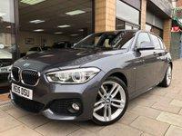 2015 BMW 1 SERIES 1.6 118I M SPORT 5d AUTO 134 BHP £16995.00