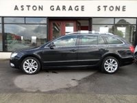 USED 2012 12 SKODA SUPERB 1.6 SE PLUS TDI CR 5d 104 BHP ** SAT NAV * CRUISE * FSH ** ** SAT NAV * 1/2 LEATHER * CRUISE **