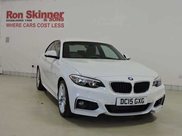 View our 2015 15 BMW 2 SERIES 2.0 218D M SPORT 2d 141 BHP