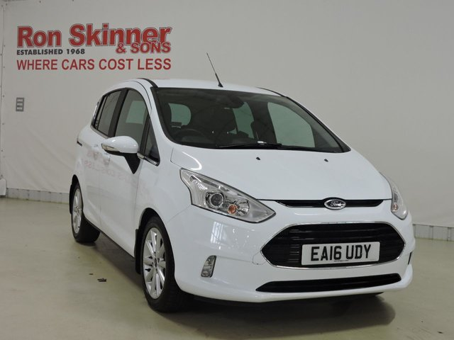 View our 2016 16 FORD B-MAX 1.5 TITANIUM TDCI 5d 94 BHP
