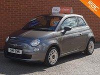 2011 FIAT 500 0.9 TWINAIR 3d  £4295.00
