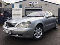 1999 MERCEDES-BENZ S CLASS 4.3 S430 4dr £SOLD