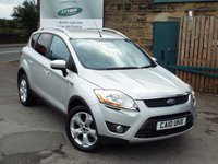 USED 2010 10 FORD KUGA 2.0 TITANIUM TDCI 2WD 5d 134 BHP One Former Owner ONLY 35k