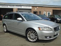 USED 2012 12 VOLVO V50 1.6 DRIVE SE LUX EDITION S/S 5d 113 BHP ** GREAT VALUE + 2 OWNER **