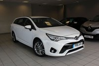 2016 TOYOTA AVENSIS 1.6 D-4D 110 BHP BUSINESS EDITION 5d £9685.00