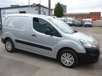 USED 2016 16 CITROEN BERLINGO 1.6 625 ENTERPRISE L1 HDI, 74 BHP, SATNAV, AIR CON, 1 COMPANY OWNER