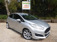 USED 2013 13 FORD FIESTA 1.0 ZETEC S 3dr Air Con, Bluetooth, AUX & USB.