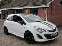 2012 VAUXHALL CORSA 1.2 LIMITED EDITION 3dr £4990.00