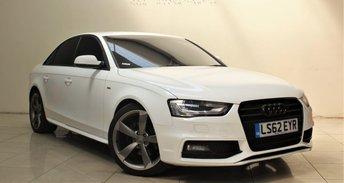 2012 AUDI A4 2.0 TDI S LINE BLACK EDITION 4d 174 BHP £11499.00