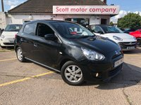 USED 2015 15 MITSUBISHI MIRAGE 1.2 '3' 5 door Automatic