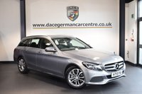 USED 2015 15 MERCEDES-BENZ C CLASS 2.1 C250 D SPORT 5DR AUTO 204 BHP 1 Owner  + FULL BLACK LEATHER INTERIOR + 1 OWNER FROM NEW + SATELLITE NAVIGATION + BLUETOOTH + HEATED SEATS + REVERSE CAMERA + CRUISE CONTROL + DAB RADIO + ACTIVE PARK ASSIST + 18 INCH ALLOY WHEELS +