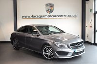 USED 2016 16 MERCEDES-BENZ CLA 2.1 CLA 220 D AMG SPORT 4DR AUTO 174 BHP 1 Owner Full Service History  + HALF BLACK LEATHER INTERIOR + FULL MERC SERVICE HISTORY + 1 OWNER FROM NEW + SATELLITE NAVIGATION + BLUETOOTH + REVERSE CAMERA + SPORT SEATS + DAB RADIO + CRUISE CONTROL + ACTIVE PARK ASSIST + 18 INCH ALLOY WHEELS +