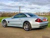 USED 2003 S MERCEDES-BENZ SL 5.4 SL55 AMG KOMPRESSOR 2d AUTO 493 BHP PAN ROOF+ACC CRUISE+SL63 ALLOY