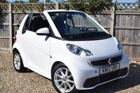 2012 SMART FORTWO CABRIO 1.0 PASSION MHD 2d 71 BHP £3999.00